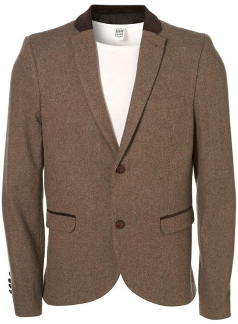 Blazer Topman Topman Tweed Blazer Of The Week