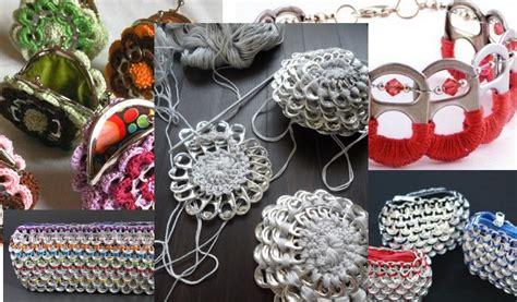 Crochet Fleur Porte Monnaie avec languettes de canettes   Patron Gratuit   Crochet et plus