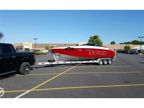 donzi boat second hand donzi z29 in florida open boats used 10210 inautia