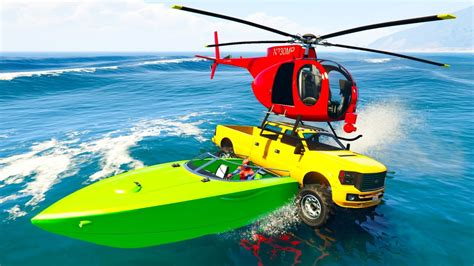 cartoon boat color color helicopters on boats and cars funny 3d cartoon for