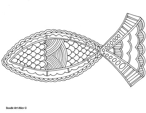 christian fish coloring page religion art on pinterest how to draw coloring pages