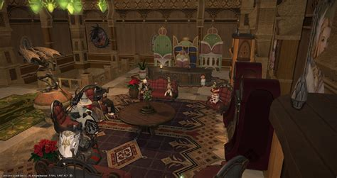 Ffxiv Furniture by A Tank And A Healer June 2014