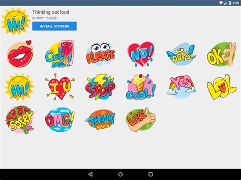 Coole Aufkleber Kostenlos by Telegram Stickers Android Apps Auf Play