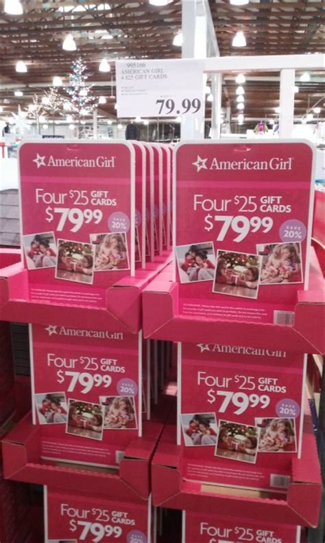 American Girl Gift Card Discount - american girl 20 off with costco s gift card deal frugal living nw