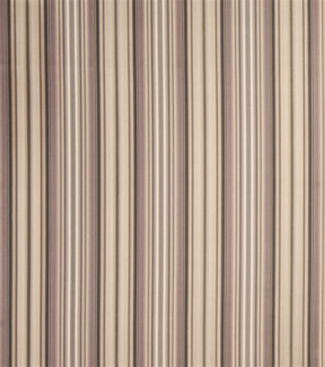 home decor print fabric eaton square mentor taupe stripe
