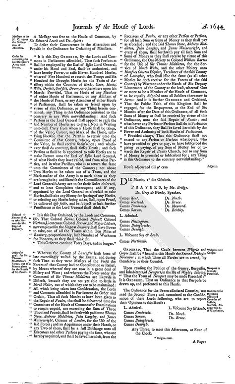 section 179 history house of lords journal volume 7 30 september 1644