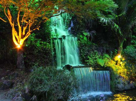 File Waterfall At The Festival Of Lights Jpg Wikimedia Waterfall Lights