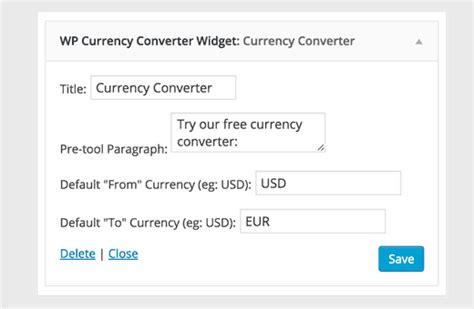 currency converter wordpress plugin comment afficher un convertisseur de devise sur wordpress