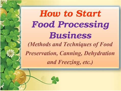 How To Start A Gift Card Business - how to start a small food processing business best business cards
