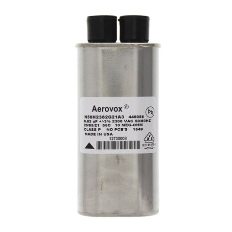 amana microwave capacitor amana commercial microwaves 59174538 capacitor 0 82