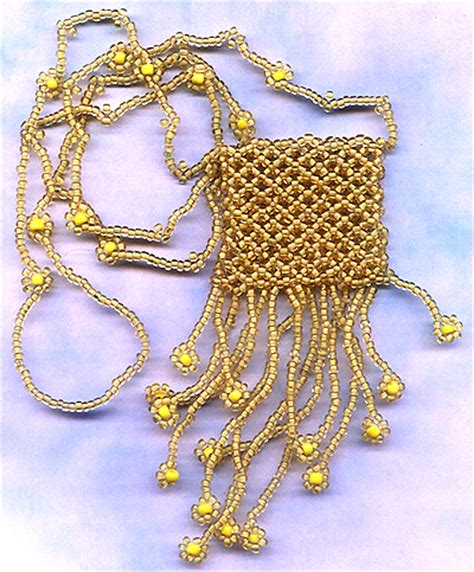 beaded amulet bag patterns patterns gallery