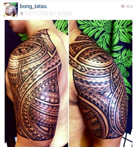polynesian tattoo tattoos by bong polynesian tattoos