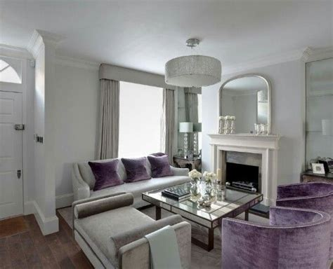 Grey And Mauve Living Room by 1000 Ideas About Purple Living Rooms On