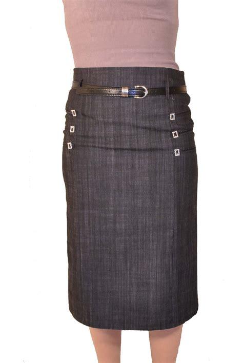 Modele Jupe jupe tsniout plus jean coton modele sephora gris