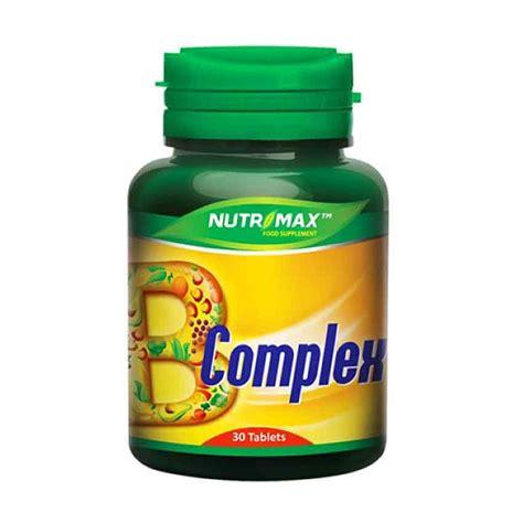 Vitamin B Complex Nutrimax Jual Nutrimax B Complex 30 Tablet Prosehat