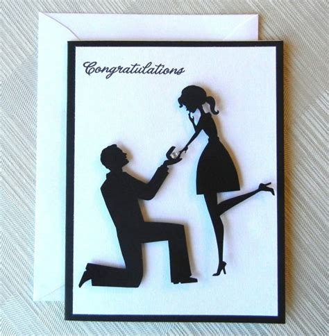 Handmade Engagement Card Ideas - best 25 engagement cards ideas on