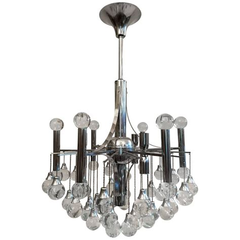 Sciolari Glass Ball Chandelier At 1stdibs Chandelier Glass Balls