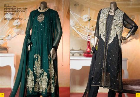 dress design by junaid jamshed embroidered chiffon winter dresses by j junaid jamshed 2015