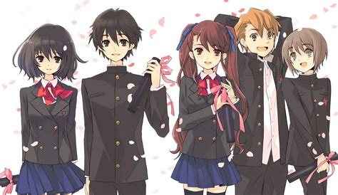 anime another which anime in a high school setting has the best uniforms