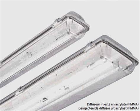 Lu Tl 36 Watt Merk Philips tl armatuur acro opbouw 2x 36w t8 g13 acrylaat ip65 grijs