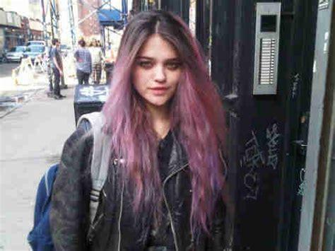 sky ferreira hair sky ferreira purple hair picture uploaded by raelianjo