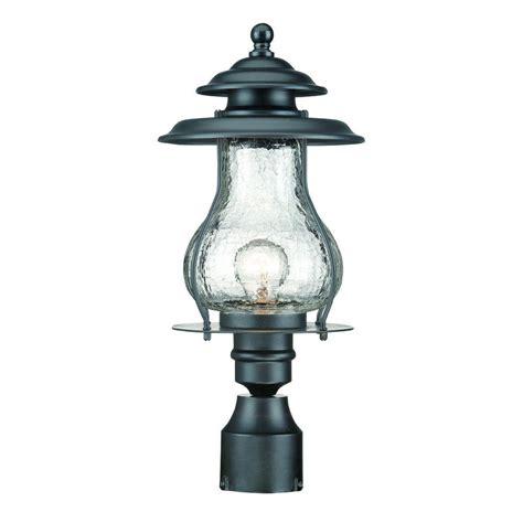 Outdoor Post Light Fixture Acclaim Lighting Outer Banks 1 Light Matte Black Outdoor Post Mount Light Fixture 77bk The