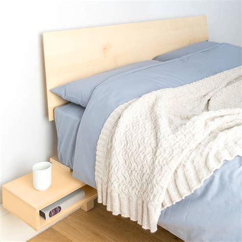 foldout bed floating bed with foldout bedside table by urbansize