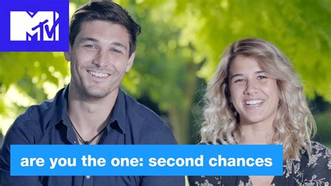 the second one and perfect match shanley and adam are you the one second chances mtv youtube