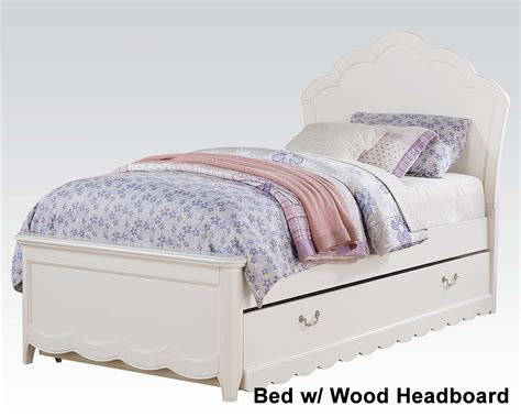 acme furniture bedroom set in white ac01660tset girl s white bedroom set cecilie in acme furniture ac30300set