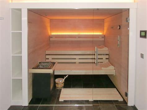 glas sauna glassauna schreiner straub wellness wohnen