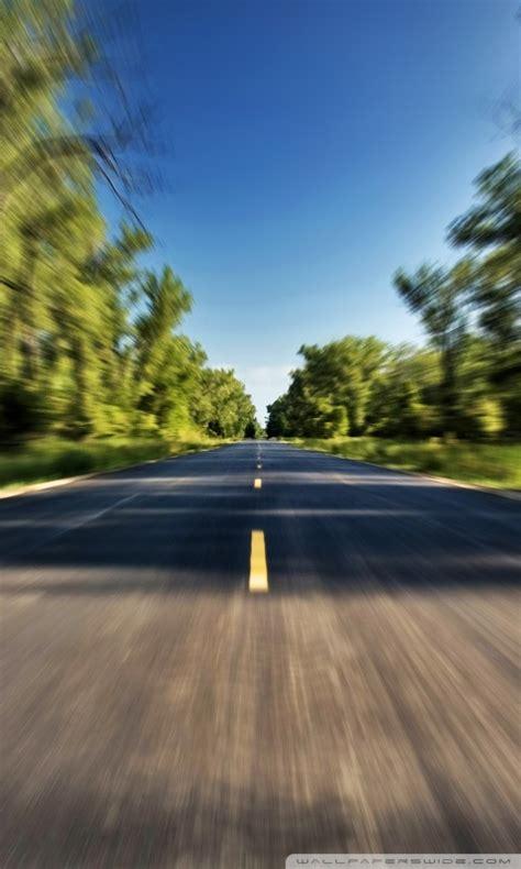 high speed   road  hd desktop wallpaper