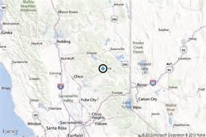 quincy california map earthquake 3 2 quake strikes near east quincy calif