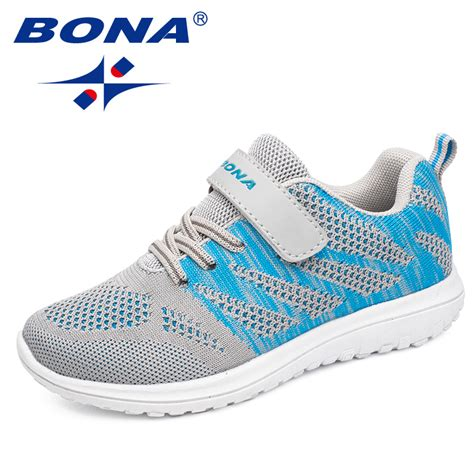 popular boys sneakers bona new arrival popular style children casual shoes mesh