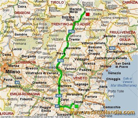 Cartina Geografica Trentino Dettagliata