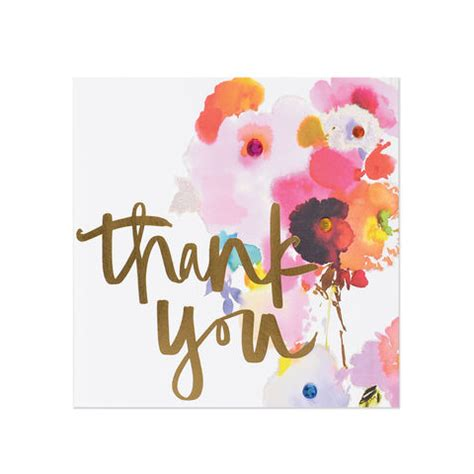 watercolor thank you card template thank you cards unique handmade notes of gratitude