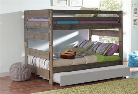 coaster furniture bunk bed coaster furniture wrangle hill full full bunk bed the