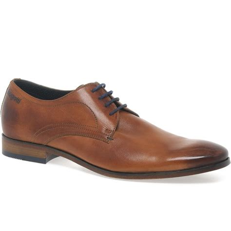 bugatti rhine mens brown leather shoes charles clinkard