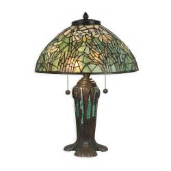 Home dale tiffany lamps two light table lamp in antique bronze verde