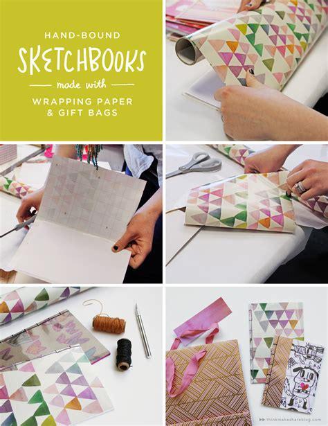 sketchbook gift diy sketchbooks for your think make
