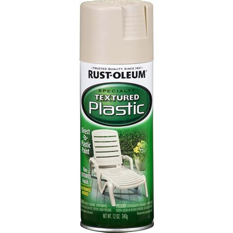 shop rust oleum specialty specialty paint for plastic sandstone textured fade resistant spray