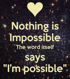Nothing Is Impossible Essay by Nothing The Word Related Keywords Suggestions Nothing The Word Keywords