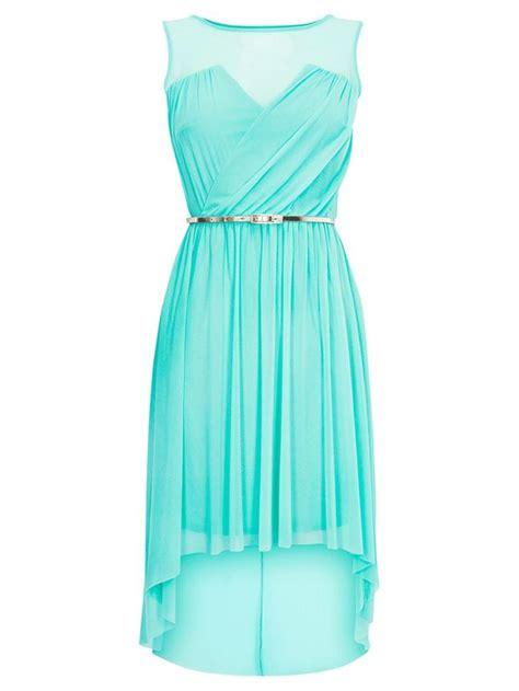 light blue high low dress tiffany blue casual dresses dresses trend