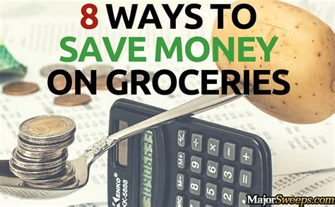 save major time and money with this grocery list template 8 ways to save money on groceries majorsweeps