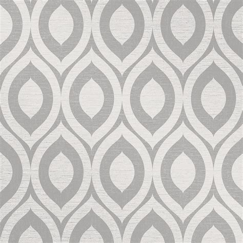Kitchen Wall Colour Ideas by Crown Rimini Geometric Wallpaper Grey M1160 Wallpaper