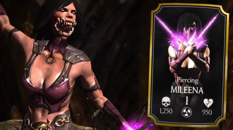 piercing mileena review wb games community
