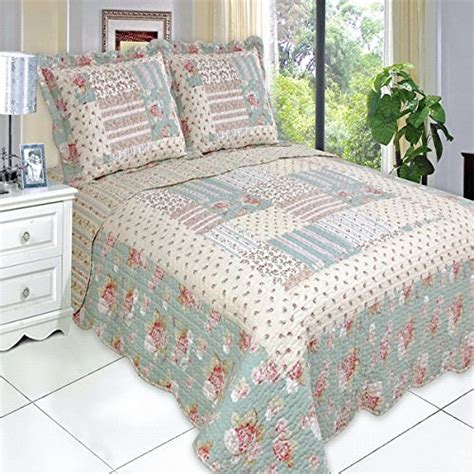 Hypoallergenic Quilt by Get Quilt Coverlet Set Size Country