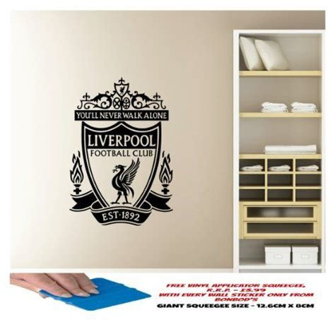 liverpool wall stickers logos football and liverpool fc on