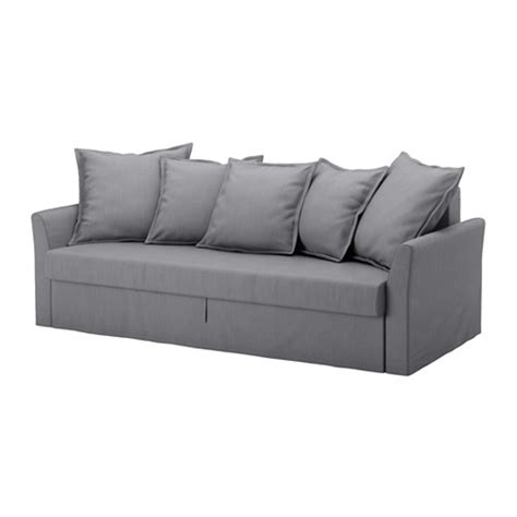 Sleeper Sofa Covers Holmsund Cover For Sleeper Sofa Nordvalla Medium Gray Ikea