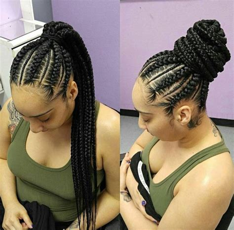 human hair ponytail with goddess braid the most elegant goddess braids ponytail with regard to