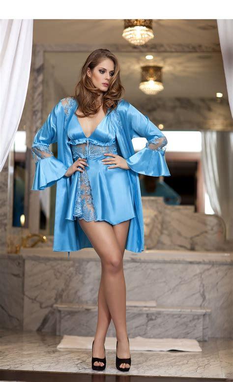 lingerie de satin bondy satin lace chemise satin robes pinterest